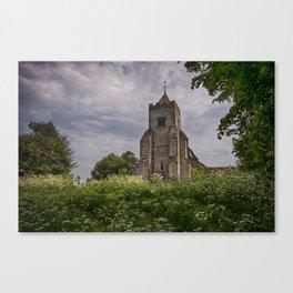 St Peter Firle Canvas Print