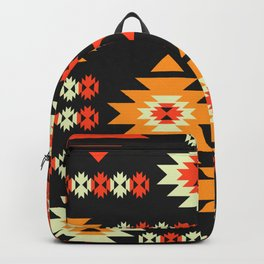 Native geometric shapes Backpack