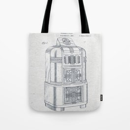 Jukebox Tote Bag