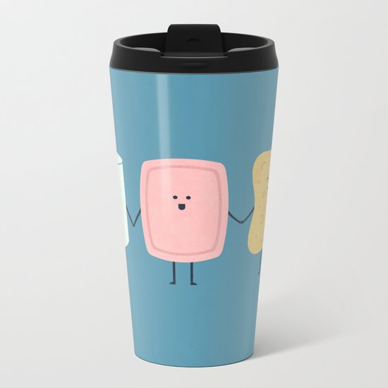 The Bathroom Gang Metal Travel Mug
