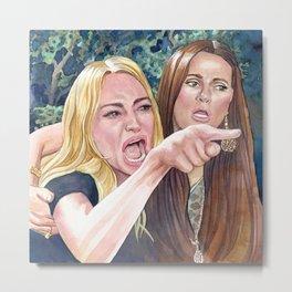 Woman yelling at cat meme #17 Metal Print