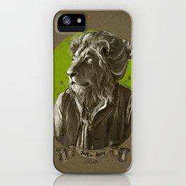 Jay the Lion - leo bun iPhone Case