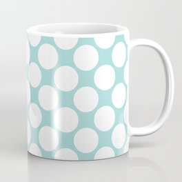 Polka Dots Blue Coffee Mug
