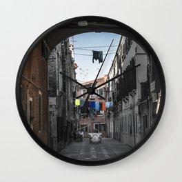 coloring Venice Wall Clock
