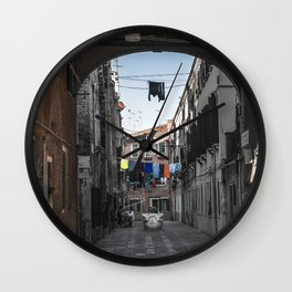 coloring Venice Wall Clock