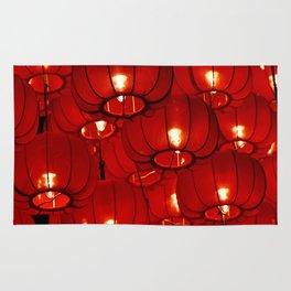 Red Lanterns Rug