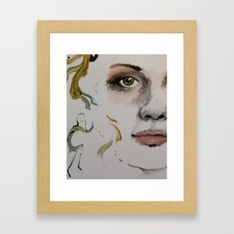 real-itty-bitty Framed Art Print