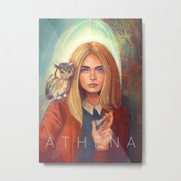 Athena - Goddess of Wisdom Metal Print