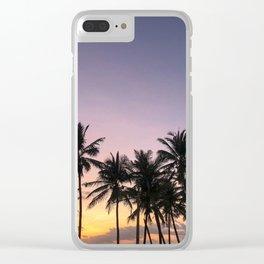 Sunset in Sri Lanka Clear iPhone Case