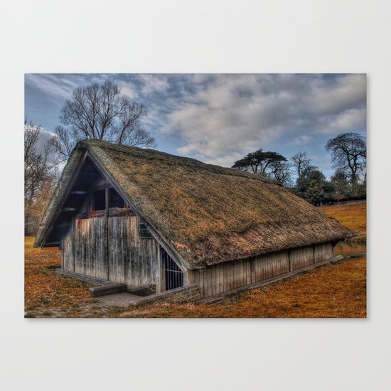The Old Boat House Canvas Print