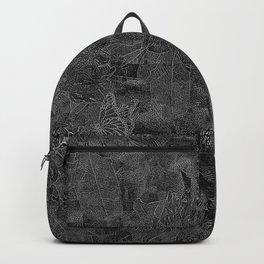 BLACK & WHITE BUTTERFLIES Backpack