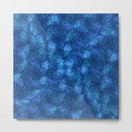 I'm Blue; Fluid Abstract 57 Metal Print