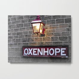 Oxenhope Station Metal Print