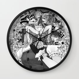 The constellation erotique 2747 Wall Clock