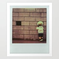 On The Look Out Art Print