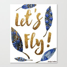 Lets Fly! Canvas Print