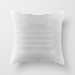 line blend Throw Pillow