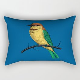 Bee eater Rectangular Pillow