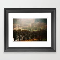 Foggy Morning on Carbeth Loch Framed Art Print