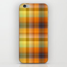 Tutti Frutti Plaid iPhone Skin