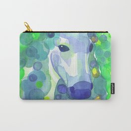 Enchanted Forest Unicorn - Green and Blue Palette Carry-All Pouch