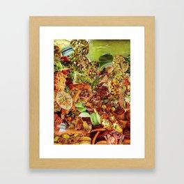 Food Collage 5 Framed Art Print