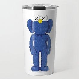 KAWS BFF - BLUE Travel Mug