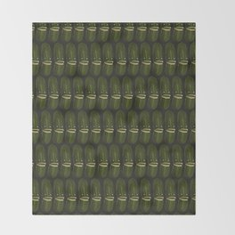 Pickle Party Throw Blanket