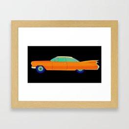Cadillac Oldtimer Vintage Framed Art Print