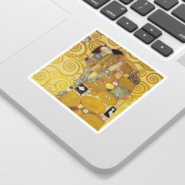 The Embrace - Gustav Klimt Sticker