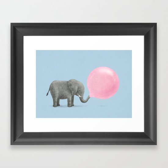 Jumbo Bubble Gum  Framed Art Print