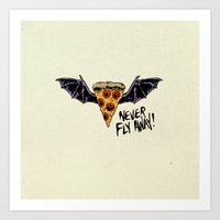 Never Fly Away Art Print