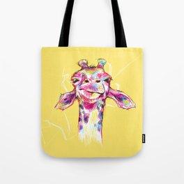 Wonky Giraffe Tote Bag