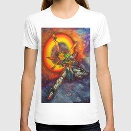 Burning Gundam T-shirt