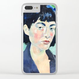 Profile in Acrylic Clear iPhone Case