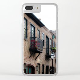 Downtown Charleston SC Clear iPhone Case