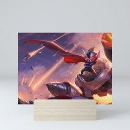 Super Galaxy Rumble League of Legends Mini Art Print