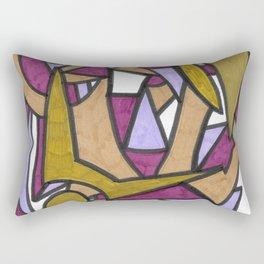 Be Honest Graffiti Style Abstract Drawing Rectangular Pillow