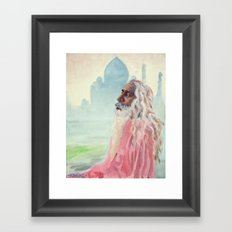 A Peaceful Glance Framed Art Print
