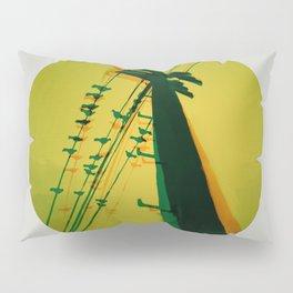 Electric post, glitchy design Pillow Sham