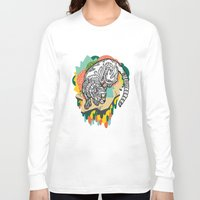 panther Long Sleeve T-shirts featuring Panther by casiegraphics