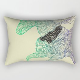 Dissolve Rectangular Pillow