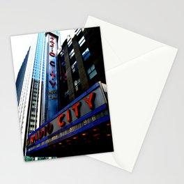 Radio City Stationery Cards