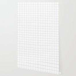Grid White Wallpaper