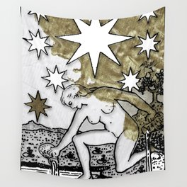 Glamour Tarot The Star Wall Tapestry