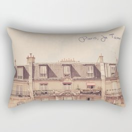 Paris Je T'aime Rectangular Pillow