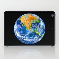 earth iPad Cases featuring Earth by Marble Trouble