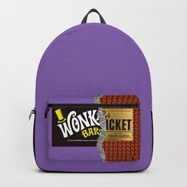 Wonka's Golden Ticket Chocolate Backpack