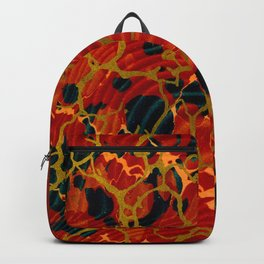 Marbelous Copper and Gold Backpack