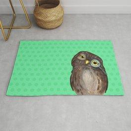 Curios Owl from Animal Society Rug